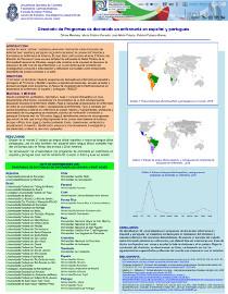 Afiche Directorio de programas de doctorado en enfermería en español y portugués