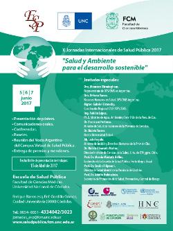 X Jornadas Internacionales de Salud Pública - 2017